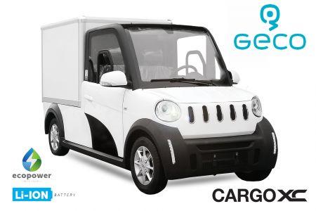 ** EEC Elektroauto Colibri Geco CARGO XC Koffer Förderprämie 7.5kW inkl. 72V 140Ah Lithium Batterie Straßenzulassung Kofferaufbau Transporter