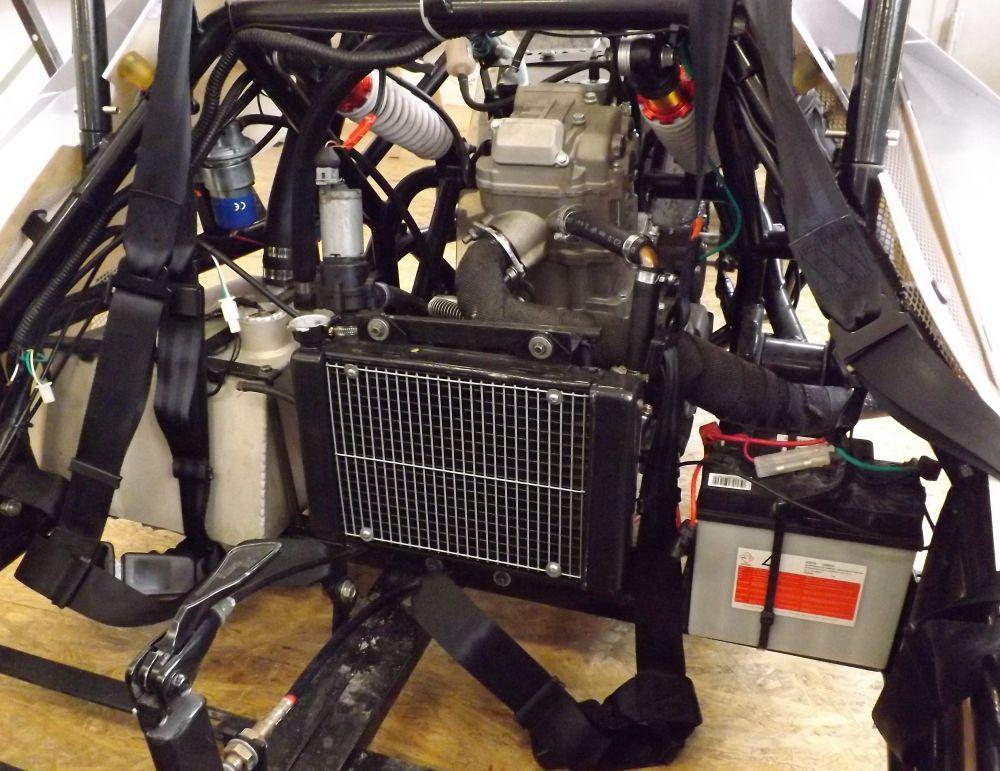 gebrauchter Motor für ZTR Roadster 250 ccm 4 TAKTER 4 Ventile Baureihe 2016 870 km gelaufen ohne  Vergaser