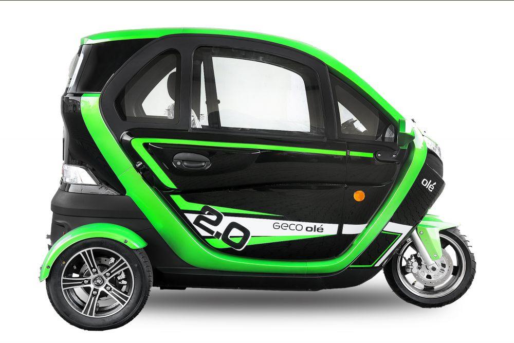 EEC Elektroauto Geco Ole 3000 V5 3kW Motor inkl. Batterie EEC Straßenzulassung Elektromobil Elektrofahrzeug