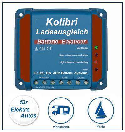 BMS-System Batterie-Ladeausgleichssystem Ladeausgleich Balancer Ladungszustandsausgleicher Gel  und Bleiplattenbatterien Säure