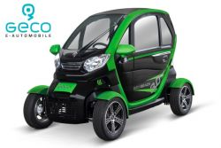 Geco Beach V8 Modell 2021 Batterien Graphen 3Kw Elektroauto E-Auto Elektro Straßenzulassung EEC EWG 60V 90AH