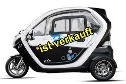 gebraucht Kundenauftrag Anaig GECO Ole  2.0 Elektroauto Elektromobil Dreirad Scooter COC EU 25 km/h 45 km/h ohne Führerschein