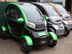 EEC Elektroauto Geco Beach 3000 V6 3kW inkl. Batterie & elektrischen Fensterhebern | Straßenzulassung | EEC 2020er Generation