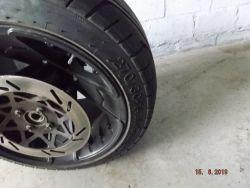 ZTR Roadster ATV & Reifen Sun-F 270/30-14,SUN-F MPN 41059 Hinterreifen gebraucht mit felge