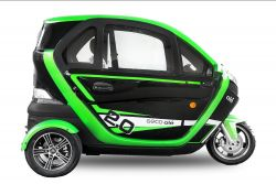 EEC Elektroauto Geco Ole 2000 V5 2kW Motor inkl. Batterie Straßenzulassung EEC COC Papiere