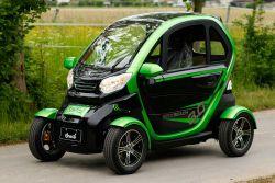 EEC Elektroauto Vorführfahrzeug Geco Beach 3000 V6 3kW inkl. Batterie & elektrischen Fensterhebern | Straßenzulassung | EEC 2020er Generation