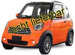 7,5 Kw Colibri M2 Luxus Elektrofahrzeug Elektromobil E-Car e-mobil E-Auto für 2 Personen, EEC ,EWG, ABS + ESP, max. 80 Km/h, Li-Ion Batterien (copy)
