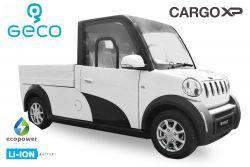 ** EEC Elektroauto Colibri Geco CARGO XC Koffer Förderprämie 7.5kW inkl. 72V 140Ah Lithium Batterie Straßenzulassung Kofferaufbau Transporter (copy)