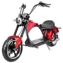 Chopper Elektroroller M1 Harley Citycoco Cruzer e-Bike e-Scooter Motorroller 2 Kw EEC Elektrofahrzeug Roller Scooter