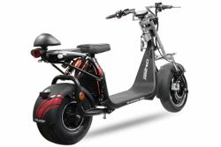 Cruzer E-Scooter Roller EEC Cruzer S12 Eco 1500W 60V 20Ah 13/8 Zoll mit Zulassung Lithium-on Batterie 45km/h